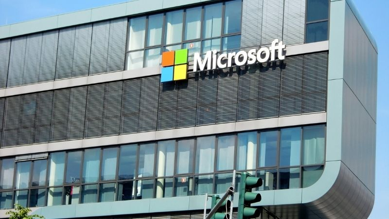 Gebouw Microsoft